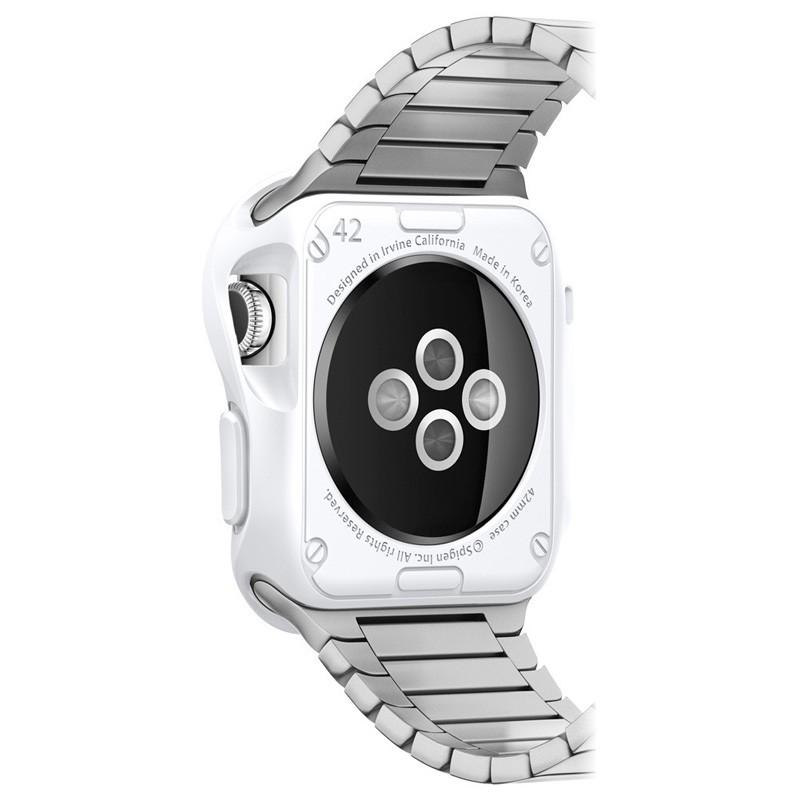 Spigen Slim Armor Case Apple Watch 42mm Silver - 3