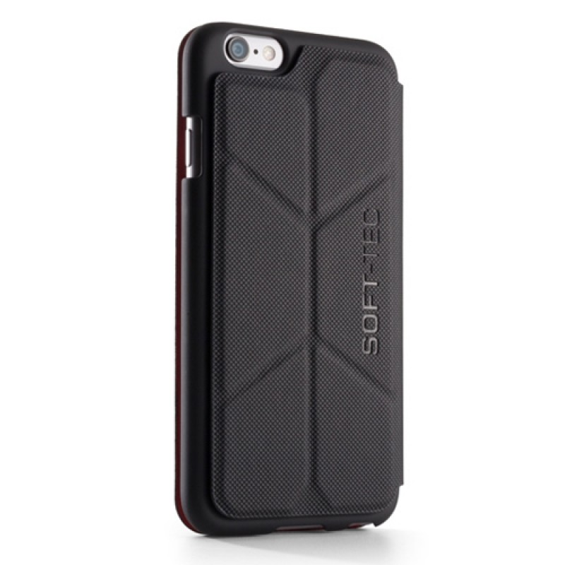 Element Case Soft-Tec Folio iPhone 6 Black - 1