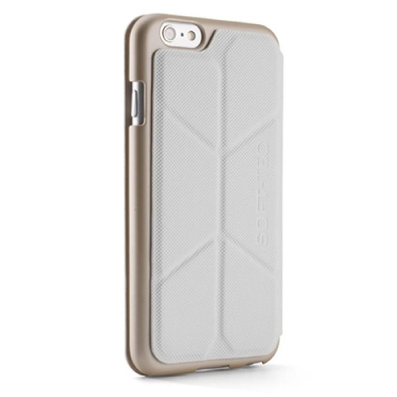 Element Case Soft-Tec Folio iPhone 6 White/Gold - 1