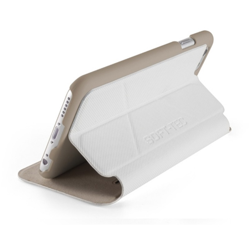 Element Case Soft-Tec Folio iPhone 6 White/Gold - 5