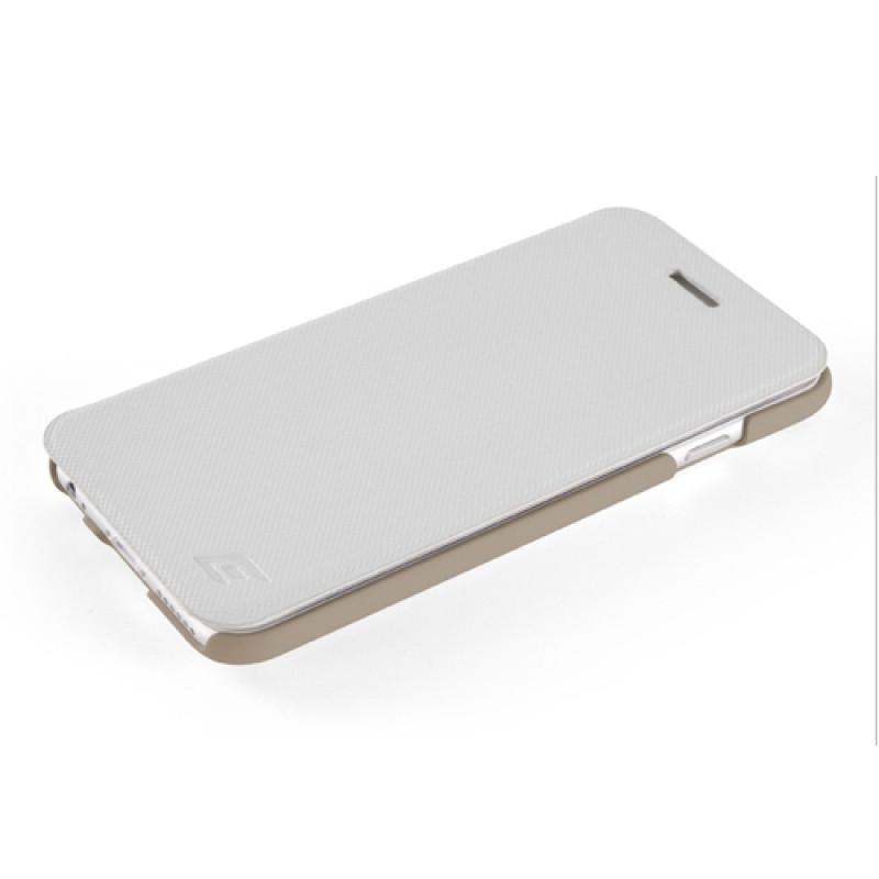 Element Case Soft-Tec Folio iPhone 6 White/Gold - 6