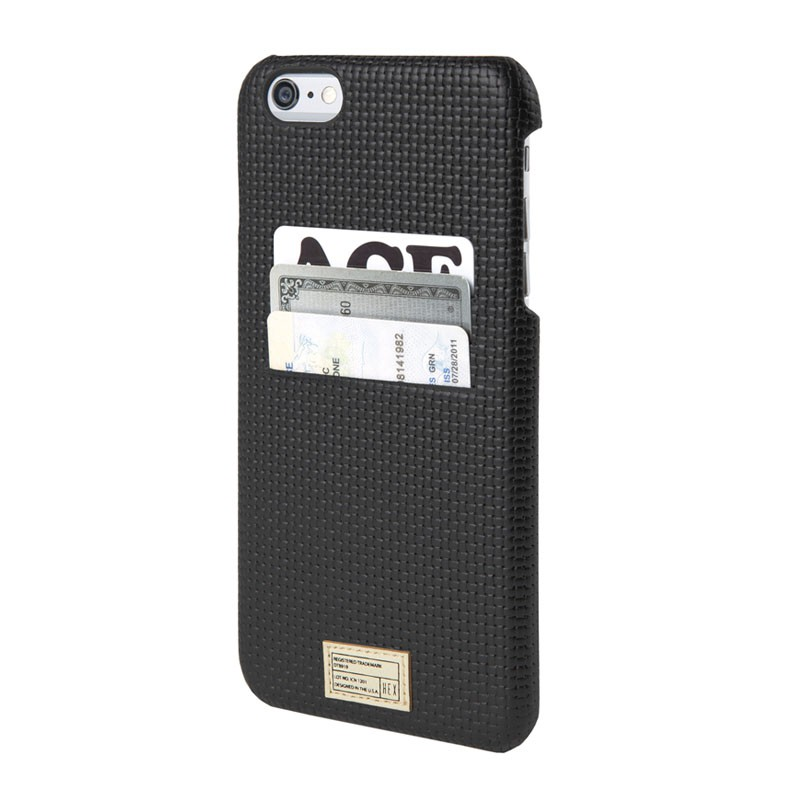 HEX Icon Wallet Case iPhone 6 Black Woven - 1