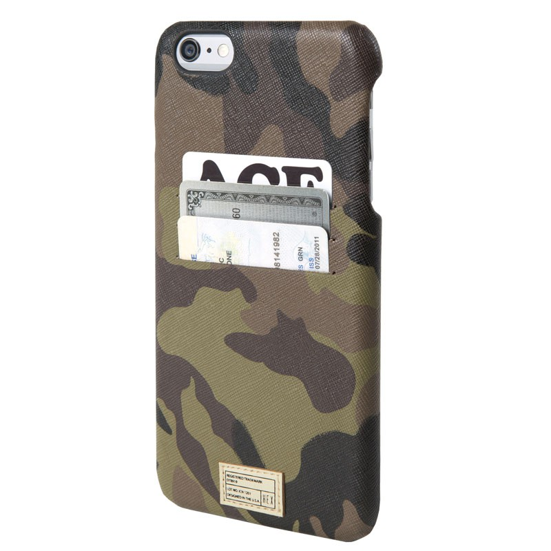 HEX Solo Wallet Case iPhone 6 Plus Camo - 1
