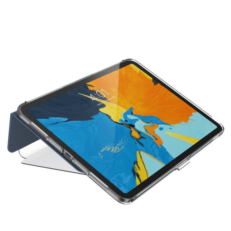Speck Balance Folio Clear iPad Pro 11 inch Blauw Transparant 05