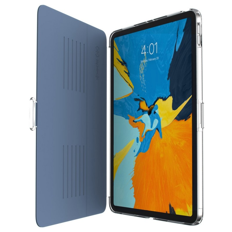 Speck Balance Folio Clear iPad Pro 11 inch Blauw Transparant 07