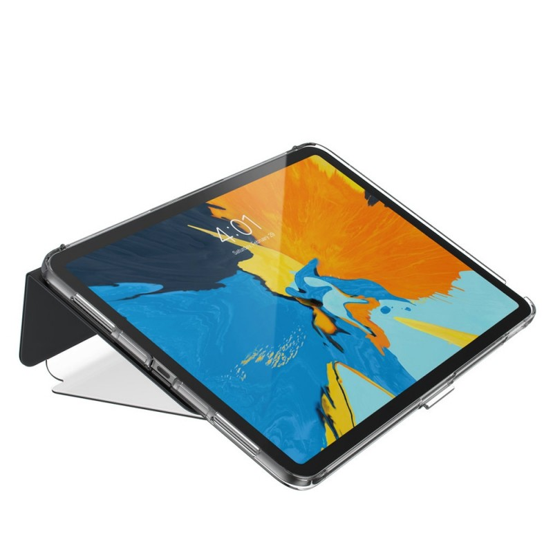 Speck Balance Folio Clear iPad Pro 11 inch Zwart Transparant 06