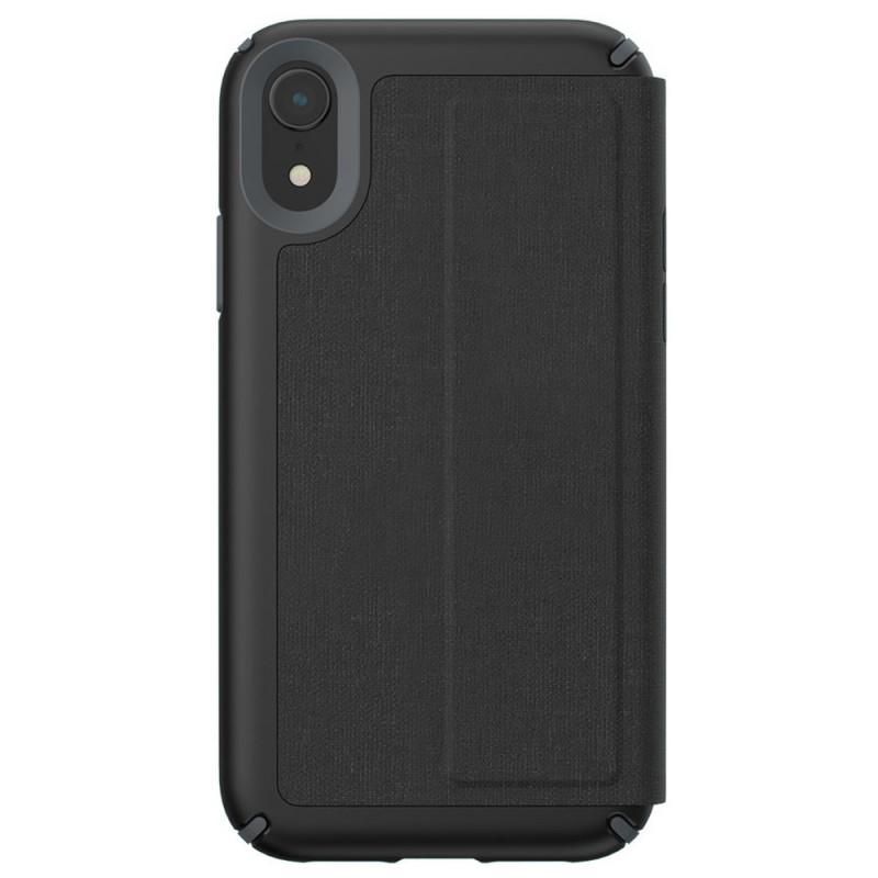 Speck Presidio Folio iPhone XR Hoesje Zwart 09