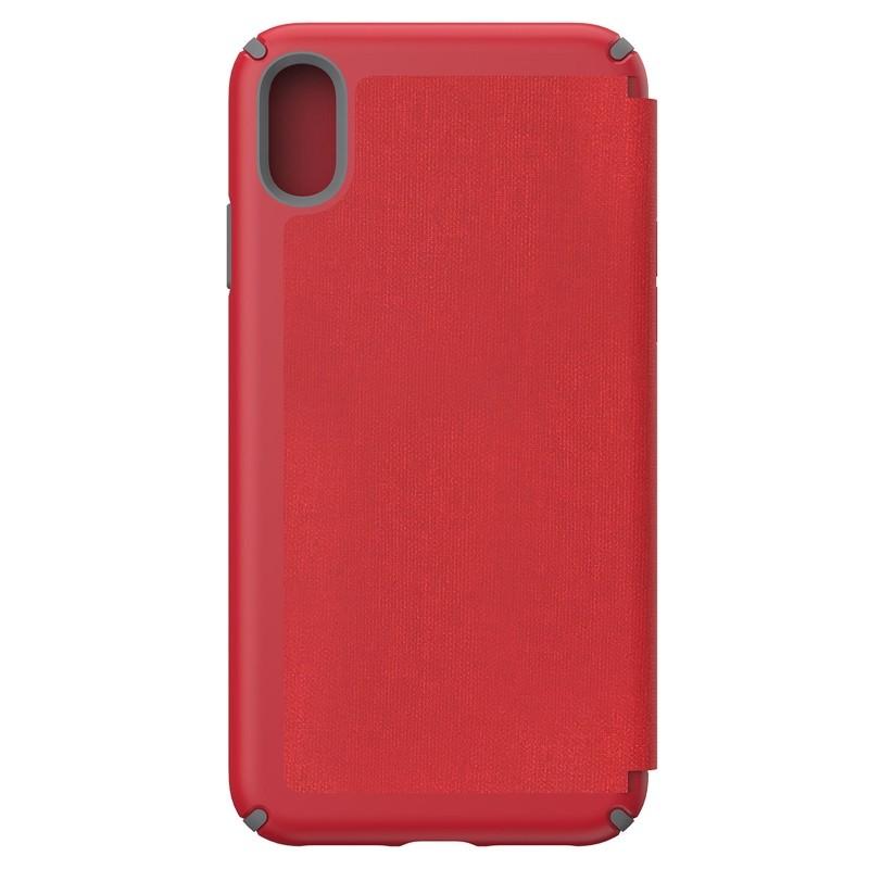 Speck Presidio Folio iPhone XS Max Case Rood 02