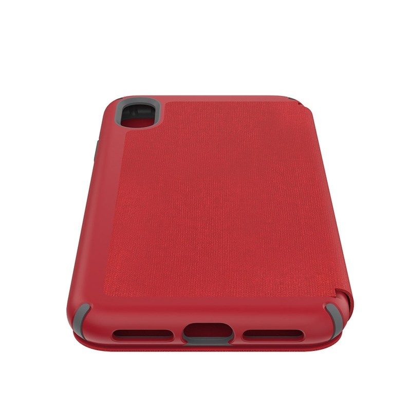 Speck Presidio Folio iPhone XS Max Case Rood 03