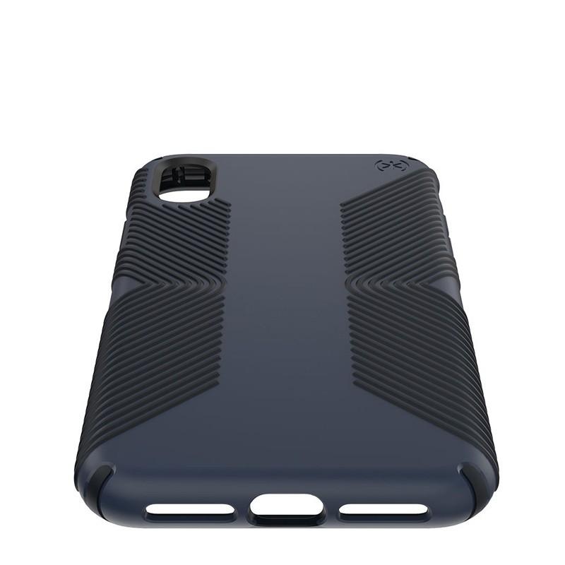Speck Presidio Grip iPhone XS Max Hoesje Blauw/Zwart 04