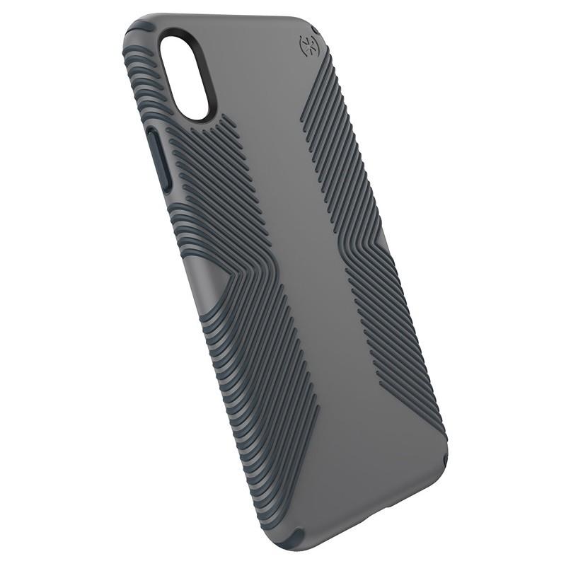 Speck Presidio Grip iPhone XS Max Hoesje Grijs 03