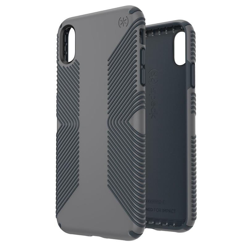 Speck Presidio Grip iPhone XS Max Hoesje Grijs 05