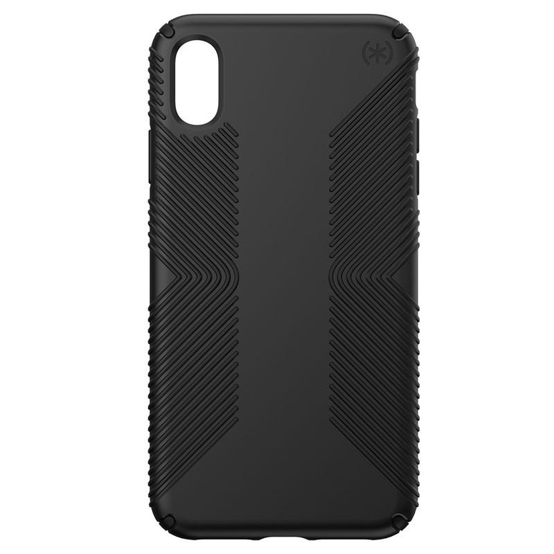 Speck Presidio Grip iPhone XS Max Hoesje Zwart 01