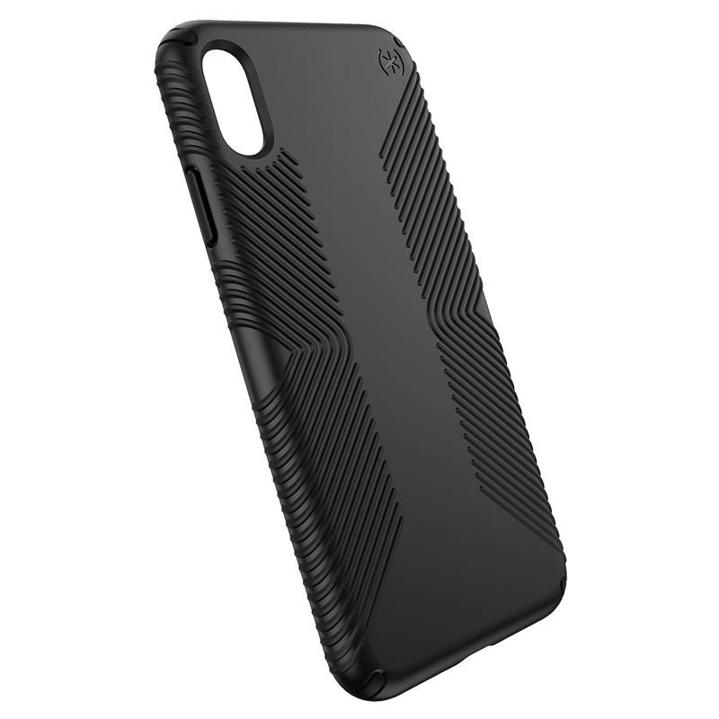 Speck Presidio Grip iPhone XS Max Hoesje Zwart 03