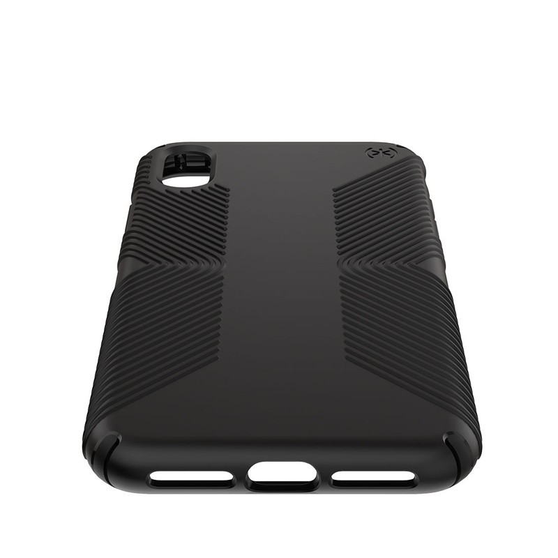 Speck Presidio Grip iPhone XS Max Hoesje Zwart 04