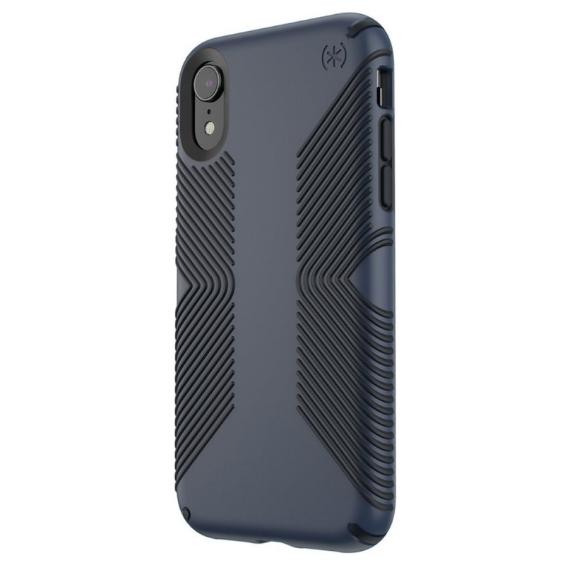 Speck Presidio Grip Case iPhone XR Blauw 04