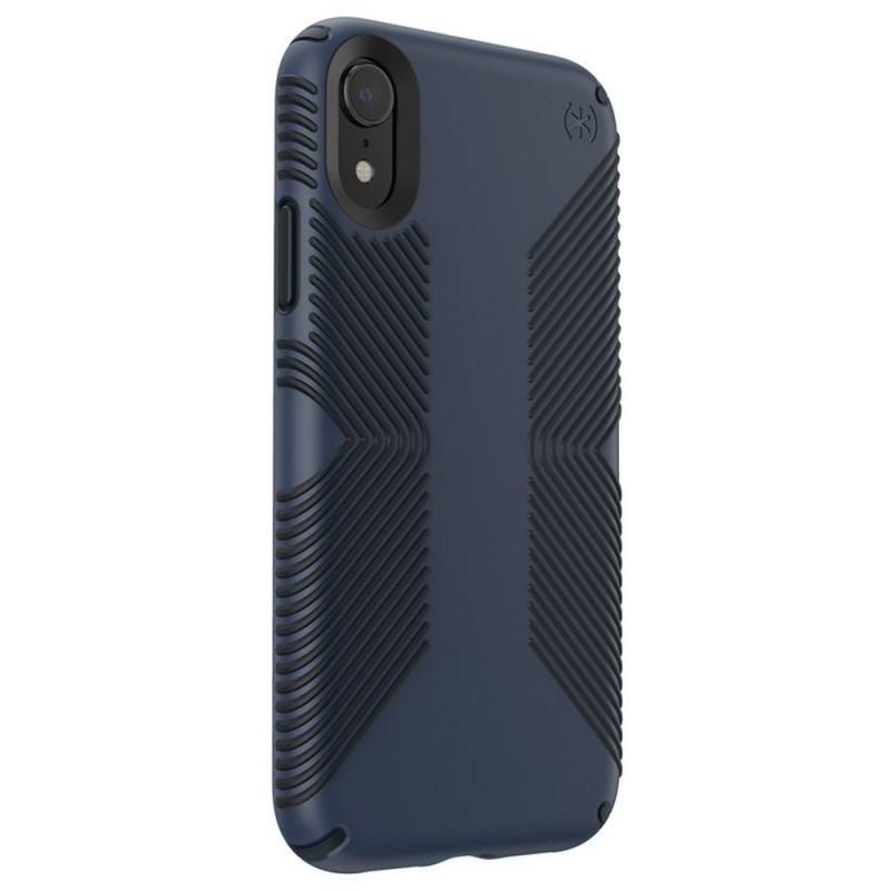 Speck Presidio Grip Case iPhone XR Blauw 02