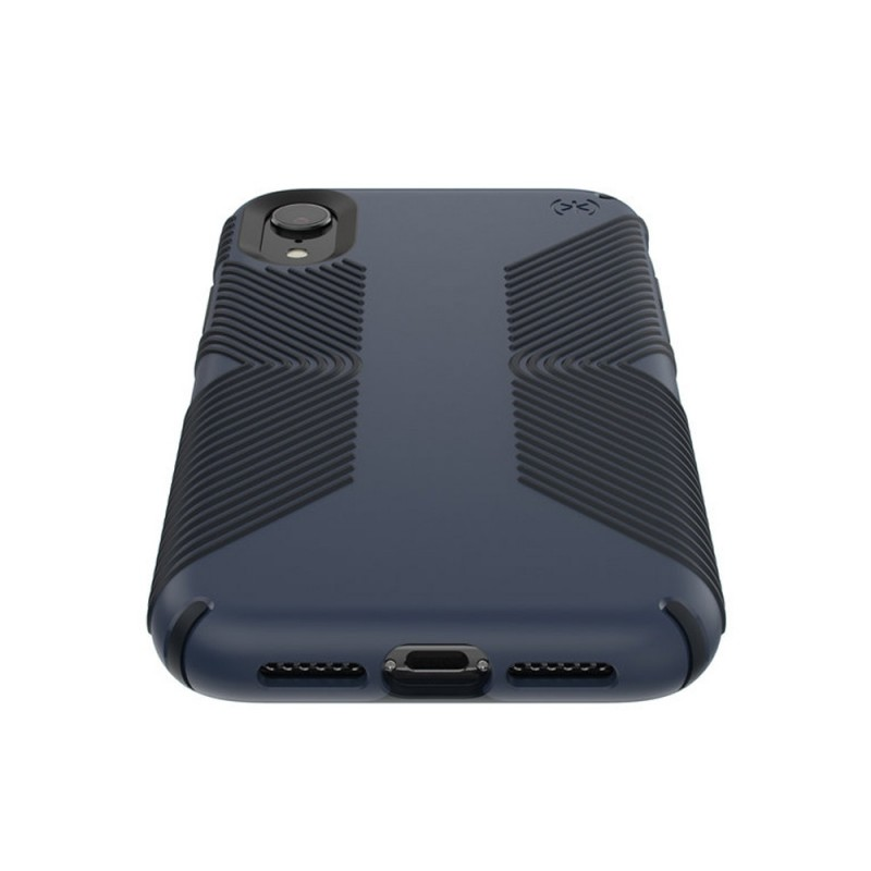 Speck Presidio Grip Case iPhone XR Blauw 03