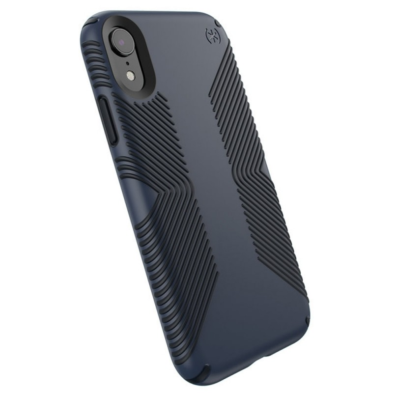 Speck Presidio Grip Case iPhone XR Blauw 06