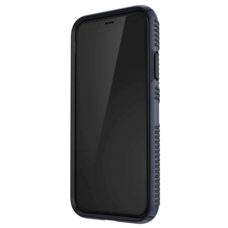 Speck Presidio Grip Case iPhone XR Blauw 07