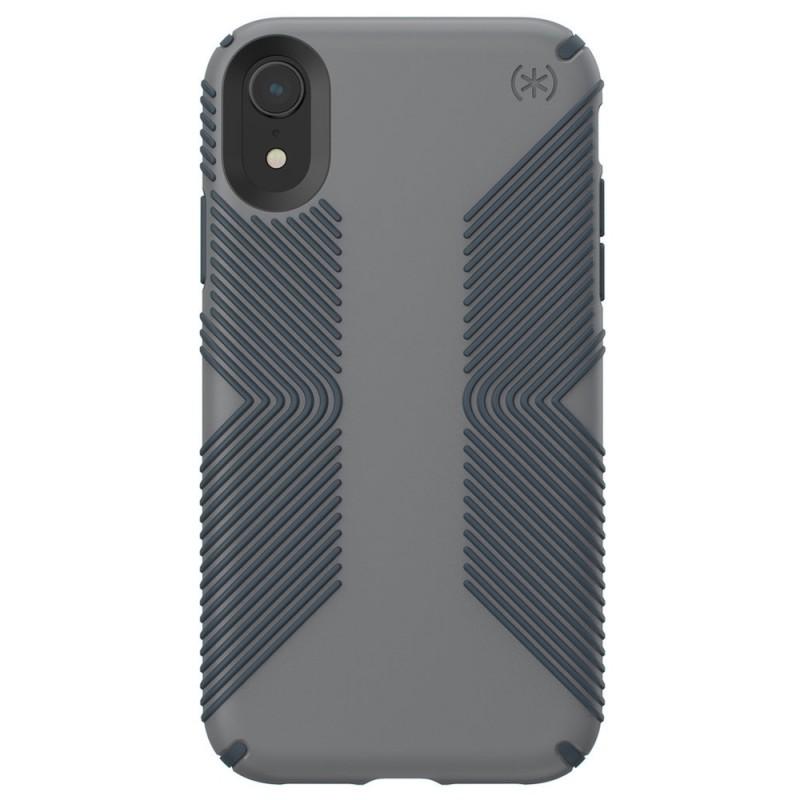 Speck Presidio Grip Case iPhone XR Grijs 01
