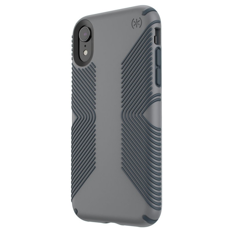 Speck Presidio Grip Case iPhone XR Grijs 02