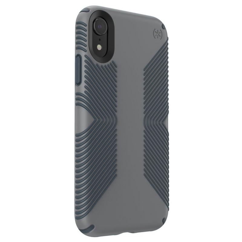 Speck Presidio Grip Case iPhone XR Grijs 04