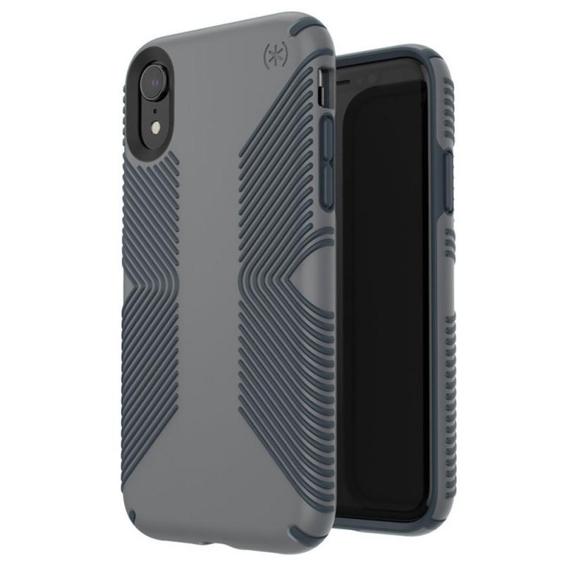 Speck Presidio Grip Case iPhone XR Grijs 05