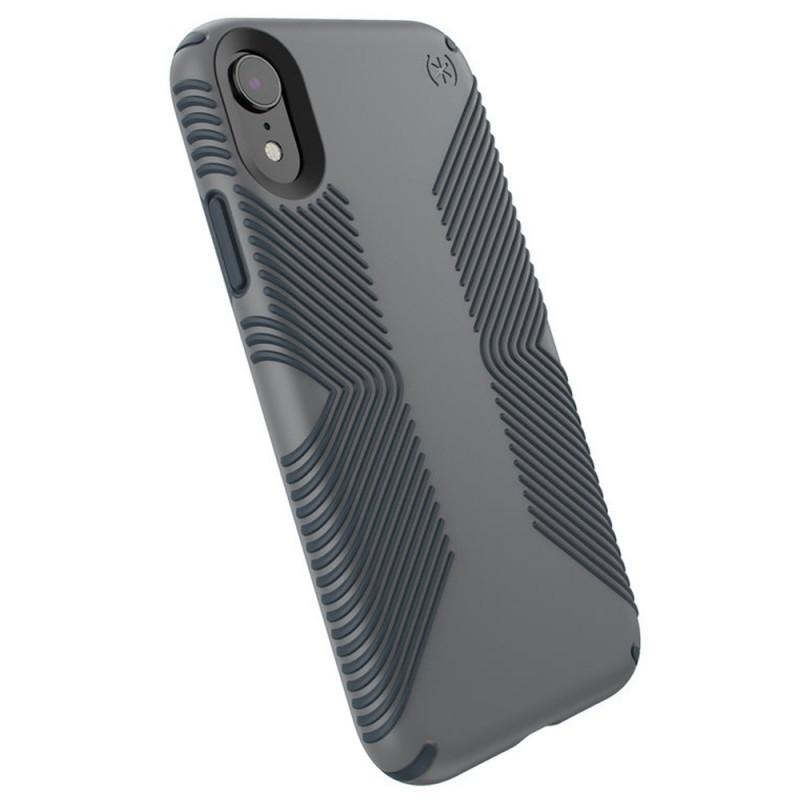 Speck Presidio Grip Case iPhone XR Grijs 06