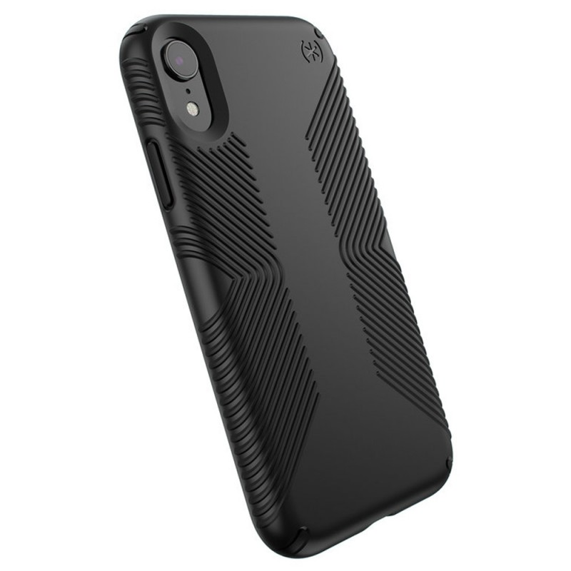 Speck Presidio Grip Case iPhone XR Zwart 06