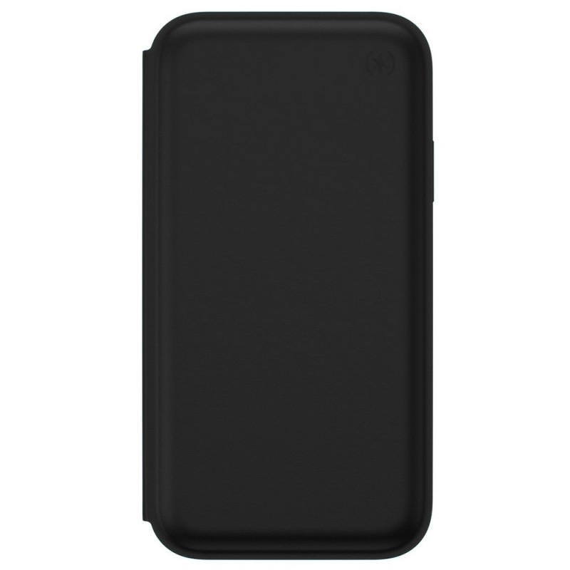 Speck Presidio Leather Folio iPhone XR Hoesje Zwart 04