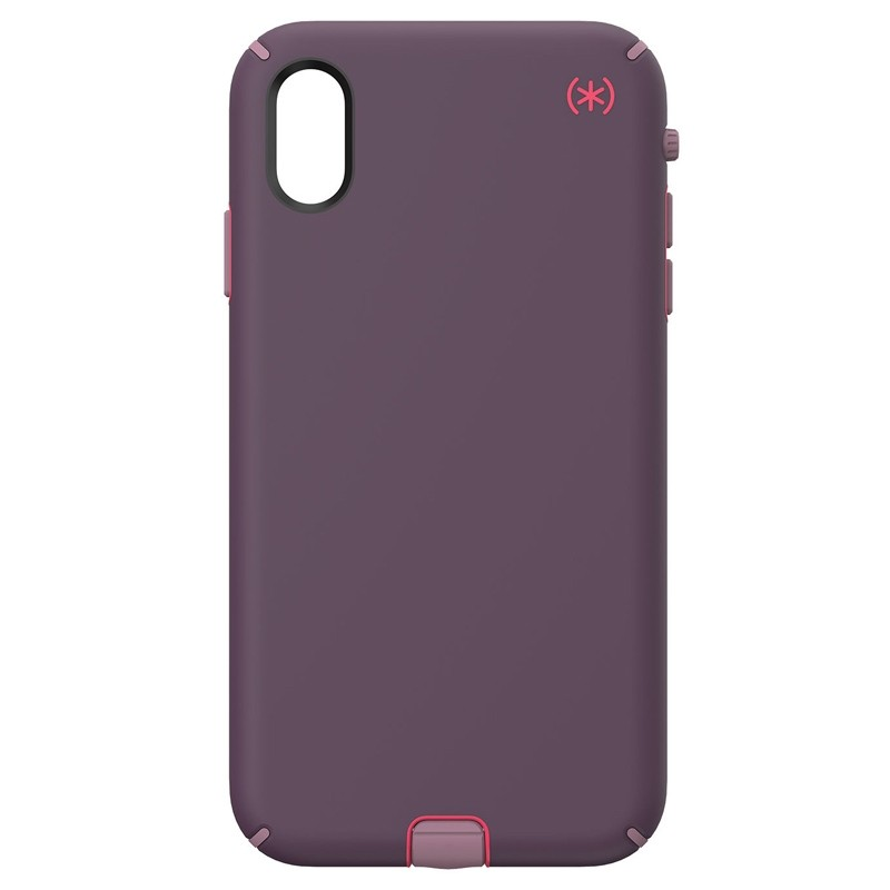 Speck Presidio Sport iPhone XS Max Case Paars 01