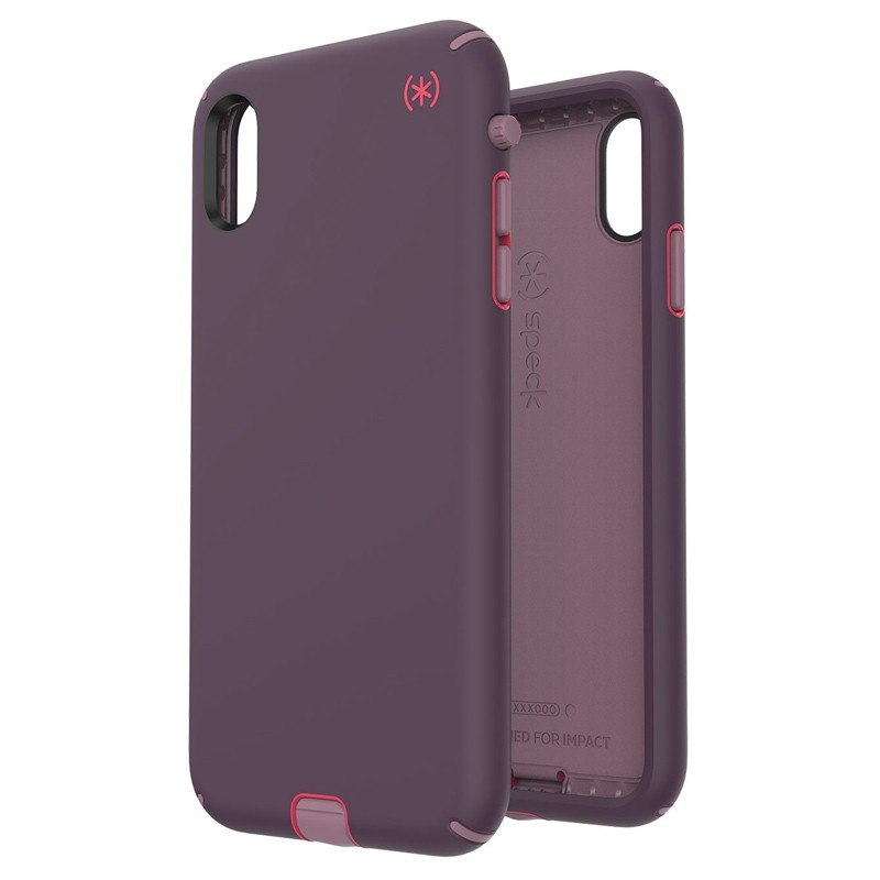 Speck Presidio Sport iPhone XS Max Case Paars 05