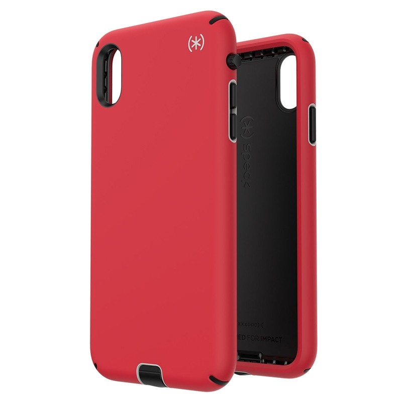 Speck Presidio Sport iPhone XS Max Case Rood 05
