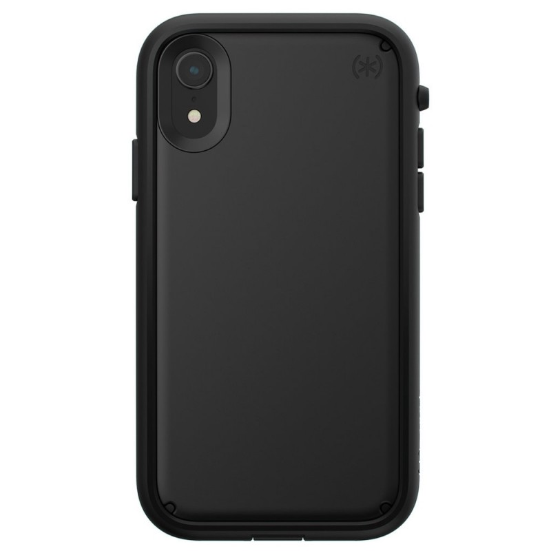 Speck Presidio Ultra iPhone XR Hoes Zwart 01