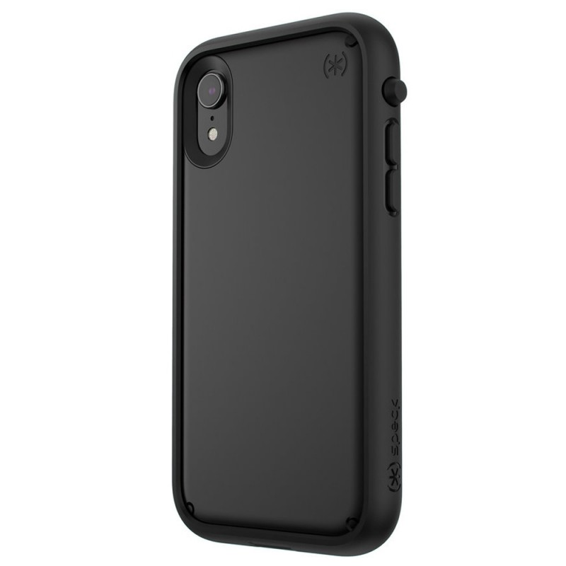 Speck Presidio Ultra iPhone XR Hoes Zwart 02