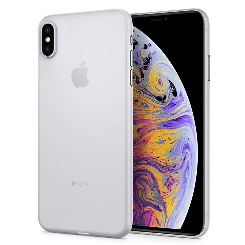 Spigen Air Skin iPhone XS Max Hoesje XS Max Wit 06