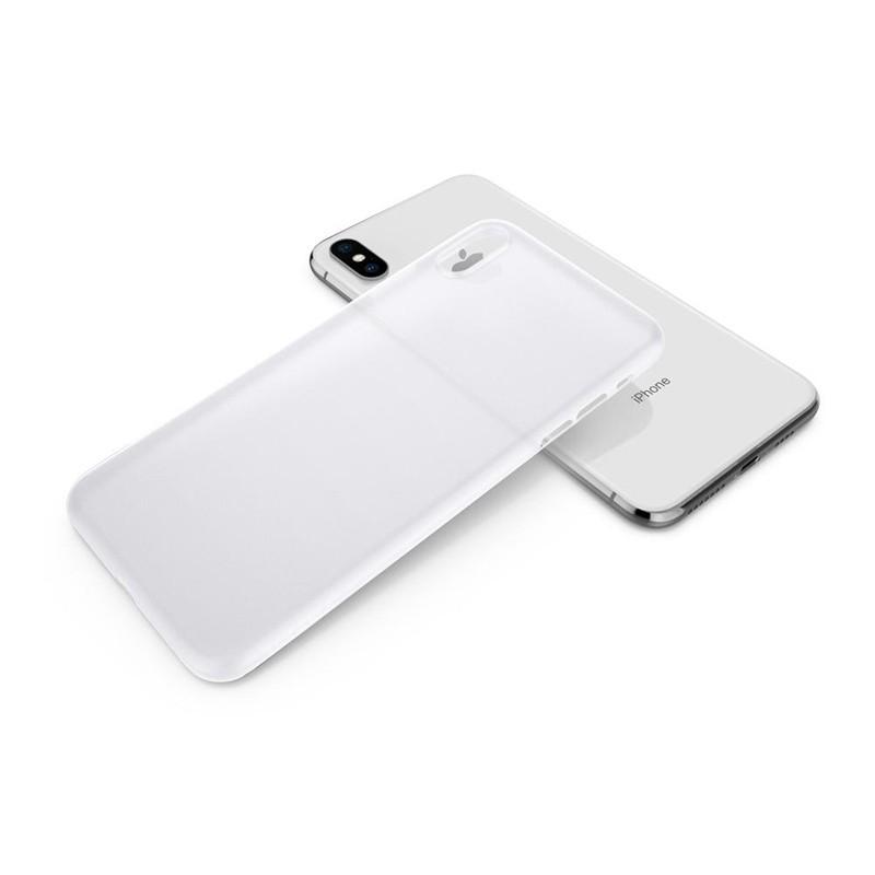 Spigen Air Skin iPhone XS Max Hoesje XS Max Wit 02