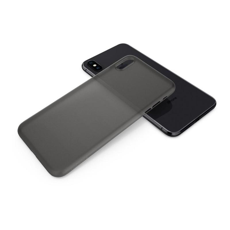 Spigen Air Skin iPhone XS Max Hoesje XS Max Zwart 02
