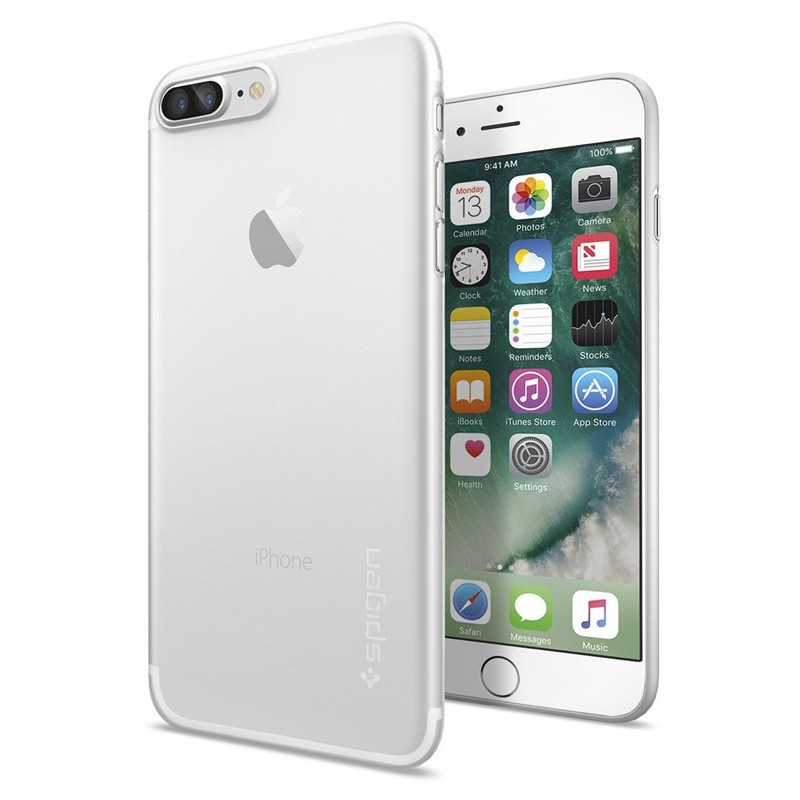 Spigen AirSkin iPhone 7 Plus Soft Clear - 1