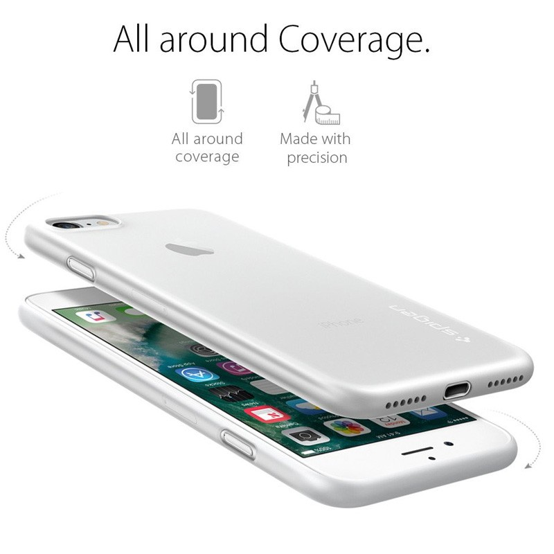 Spigen AirSkin iPhone 7 Soft Clear - 4
