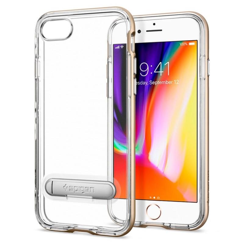 Spigen Crystal Hybrid Case iPhone 8/7 Goud - 1