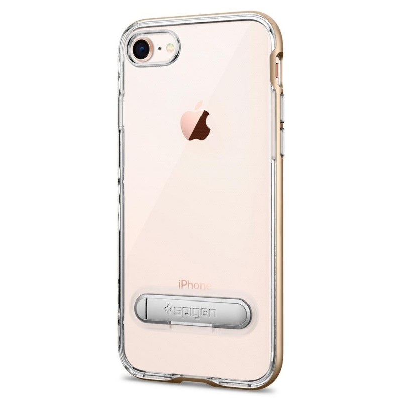 Spigen Crystal Hybrid Case iPhone 8/7 Goud - 4