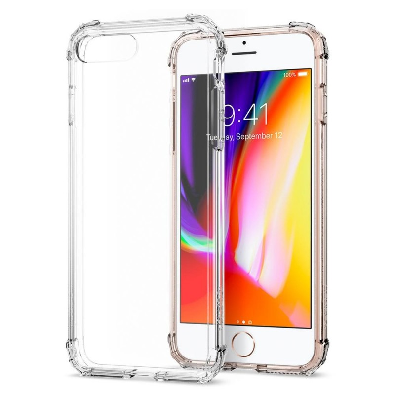 Spigen Crystal Shell iPhone 8 Plus/7 Plus Crystal Clear - 1