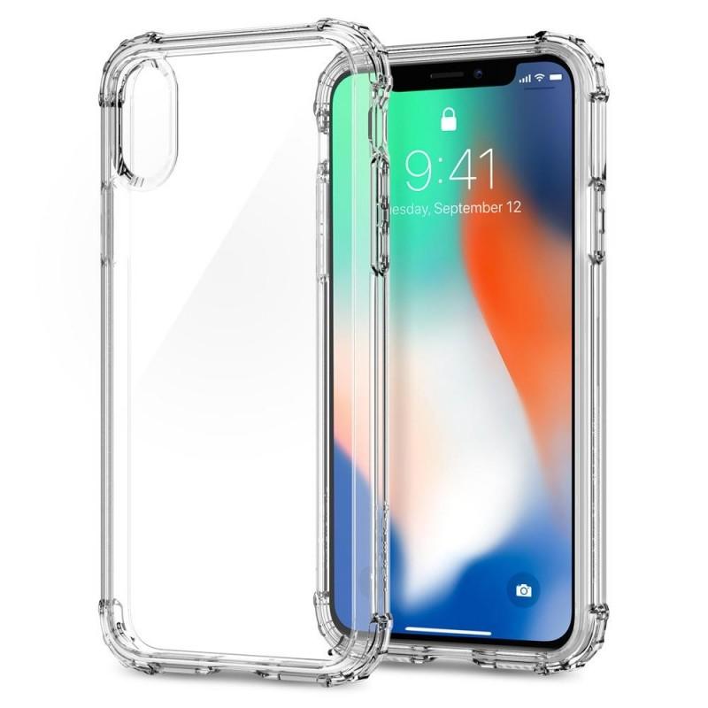 Spigen Crystal Shell iPhone X/Xs Hoesje Transparant - 2