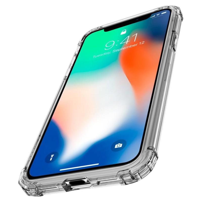 Spigen Crystal Shell iPhone X/Xs Hoesje Transparant - 3