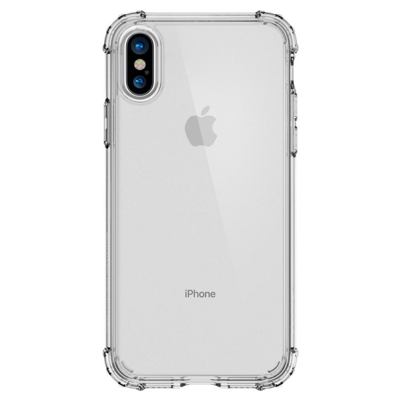 Spigen Crystal Shell iPhone X/Xs Hoesje Transparant - 5