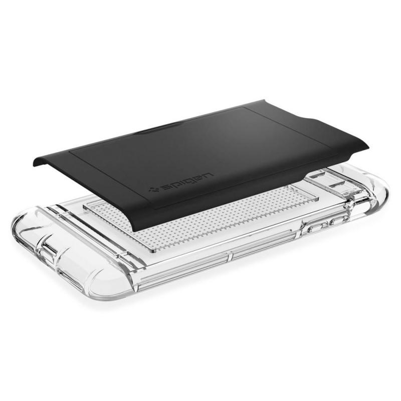 Spigen Crystal Wallet iPhone 8 Plus/7 Plus Zwart - 2