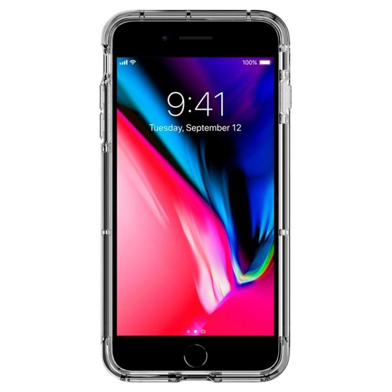 Spigen Crystal Wallet iPhone 8 Plus/7 Plus Zwart - 6