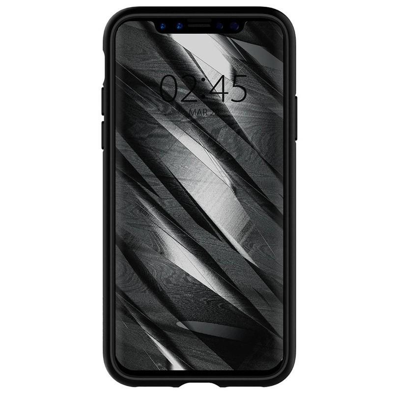 Spigen - Liquid Air Apple iPhone X/Xs hoes Black 04